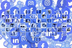 A digital social network can have global reach.